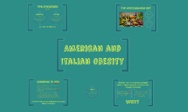 American and Italian obesity
