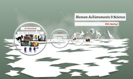 Human Achievements & Science