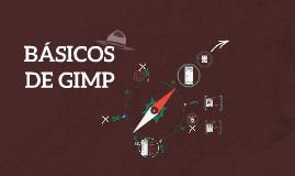 BÁSICOS DE GIMP