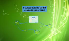 5 CLAVES DE EXITO EN UNA CAMPAÑA PUBLICITARIA