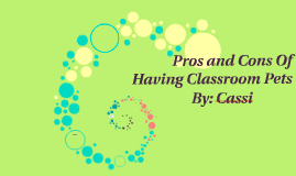 Copy of Pros and Cons Of Having Classroom Pets