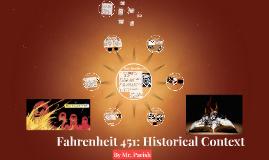 Fahrenheit 451: Historical Context