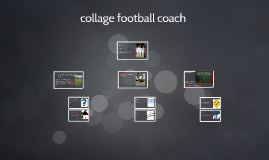 Copy of collage football coach