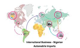 International business - nigerian wheels