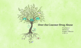 Over the Counter Drug Abuse