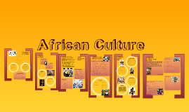 Copy of African Culture