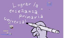 LA EDUCACION UNIVERSAL OBJETIVO DEL MILENIO