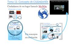 Copy of Copy of TEMA 11: CONCEPTO DE CIUDADANÍA