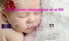 Alteraciones respiratorias en el RN