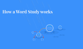 How a Word Study works