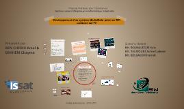 Développement d'un système Média/Data  privé sur RPI connect