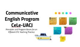Communicative English CeLe-UACJ