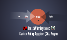 The SCAA Graduate Writing Associates (GWA) Program at CSU, East Bay
