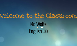 Class Introduction