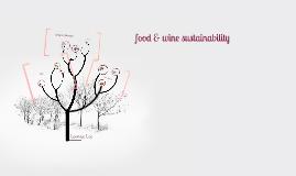 food & wine sustainability