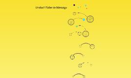 Copy of Unidad 1 Taller de liderazgo
