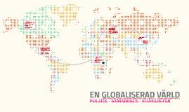 En globaliserad värld