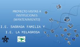 PROYECTO VISITAS A INSTITUCIONES (MANTENIMIENTO)