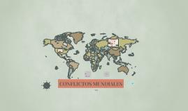 CONFLICTOS MUNDIALES