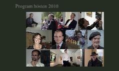 Copy of Program hösten 2010