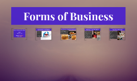 Copy of Forms of business