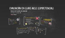 EVALUACIÓN en clave AICLE (COMPETENCIAL)