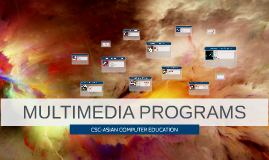 MULTIMEDIA PROGRAMS