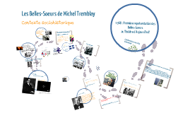 Copie trouée : Les Belles-Soeurs de Michel Tremblay : contexte sociohistorique