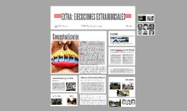 EXTRA:EJECUCIONES EXTRAJUDICIALES