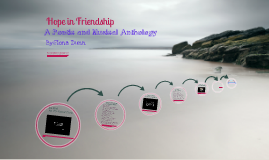 Poetry Anthology on Hope in Friendship