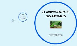 EL MOVIMIENTO DE LOS ANIMALES