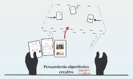 Pensamiento algorítmico creativo