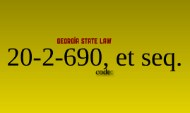 Compulsary Education in Georgia