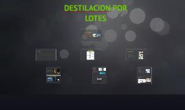 Copy of DESTILACION POR LOTES