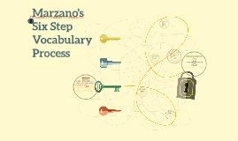 Copy of Marzano's Six Step Vocabulary Process