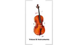 MUS 121 - Voices & Instruments
