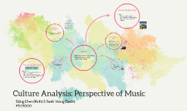 Music Perspective Culture