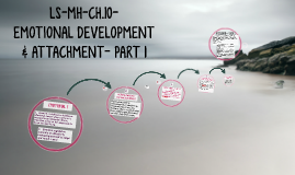 LS-MH-CH.10- EMOTIONAL DEVELOPMENT &  ATTACHMENT- PART 1