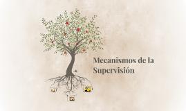 Mecanismos de la Supervisión