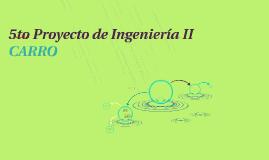 5to Proyecto de Ingenieria II