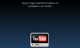 Social, Legal and ethical effects of computers on society