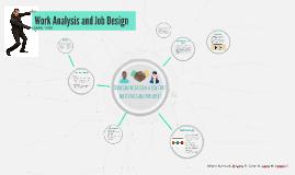 Work Analysis and Job Design-MAN1103