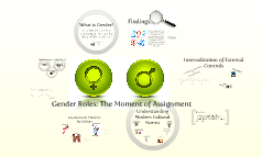Gender Roles - A Cross Cultural Study