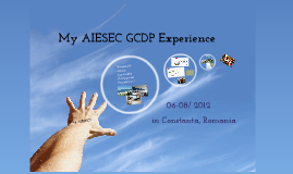 AIESEC GCDP Sharing