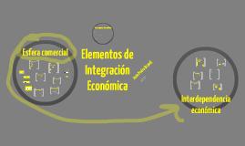 Elementos de integración económica