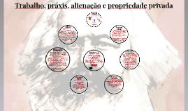 Aula 13: Karl Marx I - Trabalho, práxis, propriedade privada e alienação