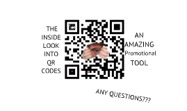 QR Codes- Promotional Tool