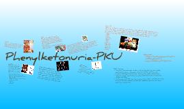 Phenylketonuria-PKU