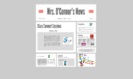 Copy of Copy of Copy of Mrs. O'Connor's News