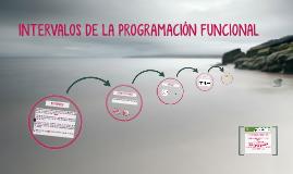 Copy of INTERVALOS DE LA PROGRAMACIÓN FUNCIONAL